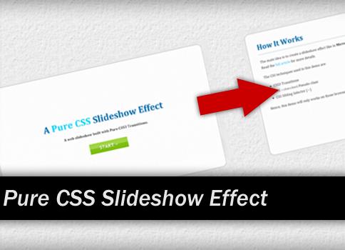 pure-css-slideshow