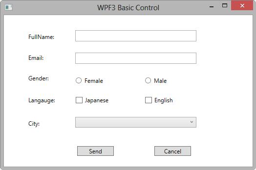 WPF Basic