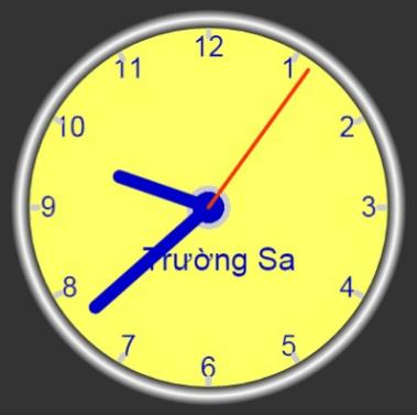 canvas - meta clock